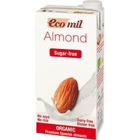 Молоко органическое растительное из миндаля без сахара Ecomil