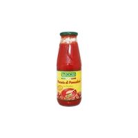 Пюре томатное с базиликом Biofoods органическое, 680 г