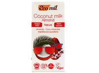 Молоко органическое растительное кокосовое без сахара Ecomil