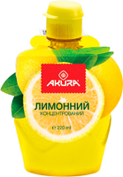 Лимонный сок, концентрированый, Akura