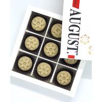 """Конфеты на кэробе без сахара """"Кофе-Арахис-Крем"""", 110г, August"""