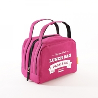 "Термосумка для еды  (Lunch bag zip) ""Pack&Go"""