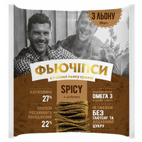 """Фьючипсы из семян льна сушеные """"SPICY"""", 50 грамм"""
