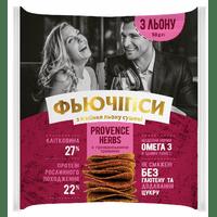 """Фьючипсы из семян льна сушеные """"PROVENCE HERBS"""", 50 грамм"""