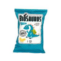 Кукурузные снеки Biosaurus с морской солью органические,  Mclloyds