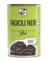 Бобы черные органические консервированные 400г, La Finestra