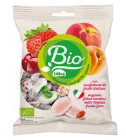 Органические леденцы с джемом фруктов, 90г Liking