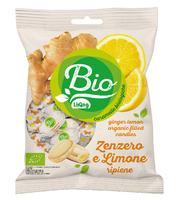 Органические леденцы имбирь-лимон, 90г Liking