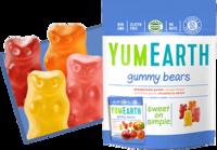 Жевательные мишки с витамином С, 20г YumEarth