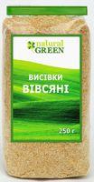 Овсяные отруби, Natural green