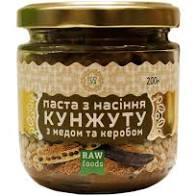 Паста из семян кунжута с медом и керобом, 200г Ecoliya
