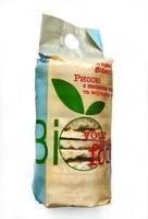 Хлебцы рисовые с морской солью и семенами льна, 100г Bio Food