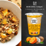 Каша овсяная с апельсином 50г, стакан ТМ Street Soup