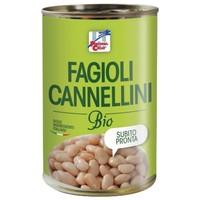 Бобы канелинни органические консервированные 400 г, La Finestra