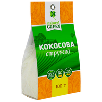 Кокосовая стружка,100г, Natural Green