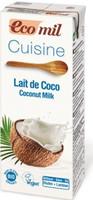 Органические растительные сливки с кокоса, Ecomil
