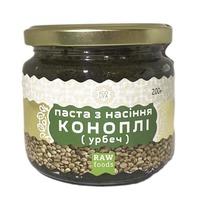 Паста семян конопли (урбеч) 200 г, Ecoliya