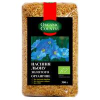 Семена золотого льна, органические, Organic Country