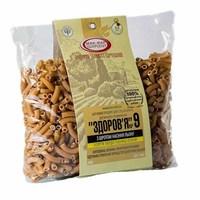 Макароны «ЗДОРОВЬЕ» №9 с шротом семян льна