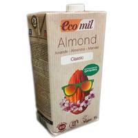 """Молоко органическое растительное из миндаля """"Классическое"""" Ecomil"""