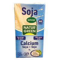 Молоко соевое с кальцием, Natur green
