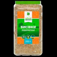 Пшеничные отруби, Natural green