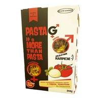 """Макароны рисово-кукурузные без глютена """"сыр, томат, базилик"""" в форме спиралек, 240г, Pasta G Healthy Generation"""