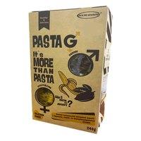 "Макароны рисово-кукурузные без глютена ""банан, какао, стевия"" в форме спиралек, 240г, Pasta G Healthy Generation"
