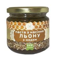 Паста семян льна с медом (урбеч) 200 г, Ecoliya