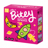 Детское печенье «Банан», безглютеновое Bitey 125г