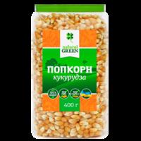 Кукуруза для поп-корна, 400гр, Natural Green