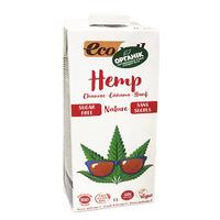 Органическое молоко из семян пищевой конопли 1л Ecomil