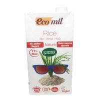 Органическое растительное рисовое молоко, 1л Ecomil
