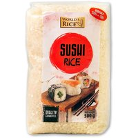 Рис для суши, 500 г, World`s Rice