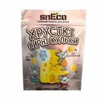 """Сырные шарики для детей """"PINK"""" 28г, Sneco"""