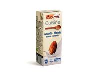 Органические растительные сливки с миндаля, Ecomil