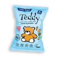 """Кукурузные снеки Teddy """"Морковь и тыква"""" органические, Mclloyds"""
