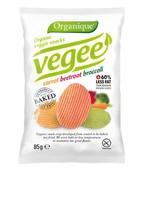 Картофельные снеки органические 85г, Vegee