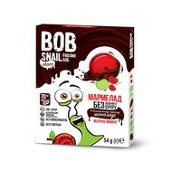 """Натуральный мармелад """"Яблоко - вишня"""" в бельгийском черном шоколаде, Bob Snail"""